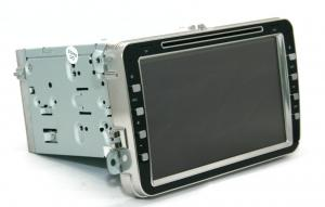 China Double Din 8 Inch Touch Screen VW Car Dvd Player With FM / AM Radio IPOD on sale