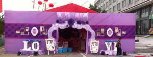 China Glass Walls Beautiful Wedding Tents Hold 600 People Arch / Square Clear PVC Windows on sale