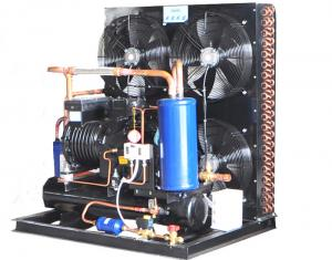 China 15HP Air Cooled Condensing Unit Semi Hermetic Advanced Technology 380V Voltage  480KG on sale