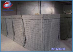 China High Tensile Military  Hesco Barrier Welded Gabion Box Gabion Mesh Cage For Anti Flood on sale