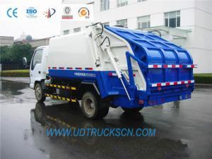 China Garbage compactor trucks, Compression refuse collectors, Refuse compactors, Compressing garbage trucks on sale