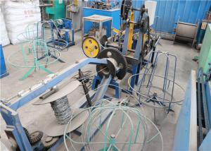 China Stainless Steel Wire Barbed Wire Making Machine Compact Structure Saving Materials on sale