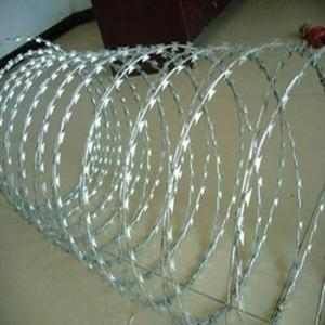 China Razor wire/concertina razor barbed wire on sale