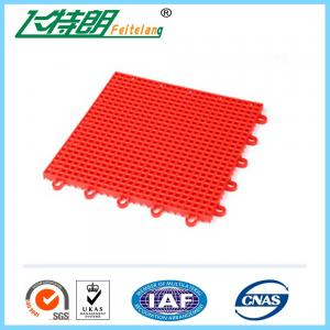 China Portable basketball court Interlocking Rubber Floor Tiles 10 Years Using Life on sale