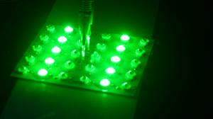 China 1W High Power Green LED on sale