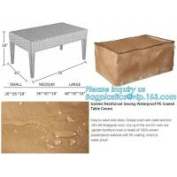 woven cover 105x500cm, garden reinforced sewing waterproof pe coated table covers,woven polyester fabric outdoor table s