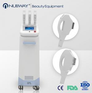 China Best reuslt ipl rf nd yag laser hair removal machine / ipl laser hair removal machine pric on sale