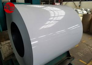 China Ral Colour Galvanized Steel Sheet 0.12-0.2 mm , Household Prepainted Steel Coil on sale
