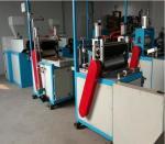 High Speed Flat PVC Film Blowing Machine Thickness 0.02-0.05mm SJ35×25-SM350