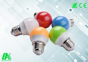 China Colorful Mini E27 LED Bulb 3w , Aluminum + Plastic e27 led light bulb energy saving on sale
