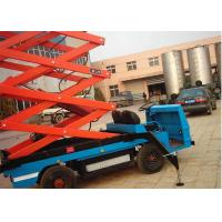 China Flexibility Truck Mounted Scissor Lift , Hydraulic Scissor Lift For Workshops on sale