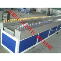 China Wood Plastic Composite Chair Plastic Profile Extrusion Line , Furniture Profile Machine on sale