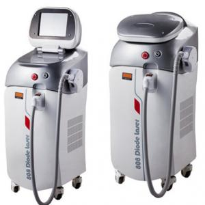 China Pain Free Soprano / Alexandrite Laser Hair Removal Machine 808nm diode Laser on sale