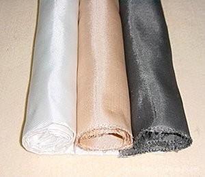 China Anti Acid Glass Fiber Cloth Double / Single Side Web Filter Press Cloth on sale