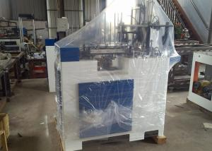 China Single / Double PE Coated Paper Box Making Machine For Meal Box , Chips Box on sale