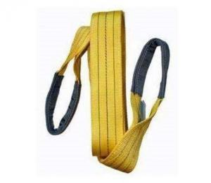 China Industrial Polyester Flat Eye And Eye Sling WLL 11500 LBS Wear Resistance on sale