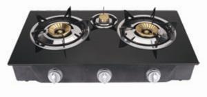 China 磁器のエナメルのグリルの台所倍のガス・バーナーのストーブJP-G305 on sale