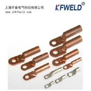 China Copper terminal lug type for cable, Copper material, Good electric conduction on sale