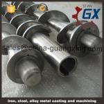 Extruder parts,extruder screw barrel,conical twin screw barrel