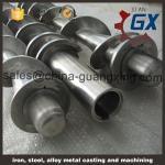 single extruder screw barrel / screw barrel for extruder pvc pp pe upvc/screw barrel