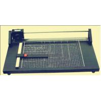 China Heavy Duty Paper Cutter Machine , Guillotine Card Cutter Metal Base Plate on sale