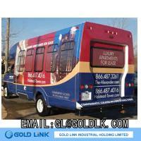 Adhesive Vinyl Graphic on Bus Advertisement (GP5100)