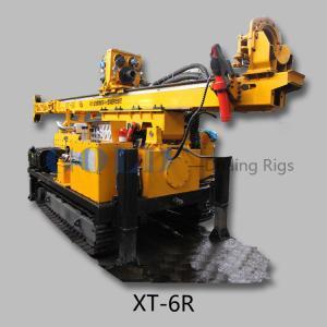 China Drilling rig equipment XT-6R hydraulic Crawler Core Drilling Rig on sale