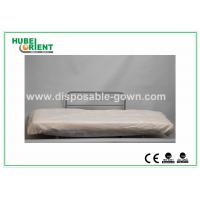 Hospital Disposable Bed Sheets Sanitary PP Bedcover / Disposable Waterproof Sheets With Elastic