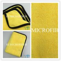 China Super soft and high water absorption car cleaning cloth microfiber cleaning cloth on sale