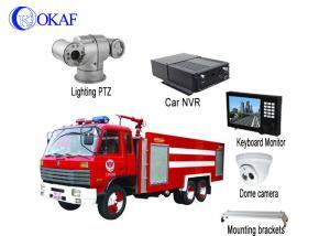 China 4G Wireless HD Vehicle PTZ Camera , Auto Tracking PTZ IP Camera2.1 Megapixels on sale