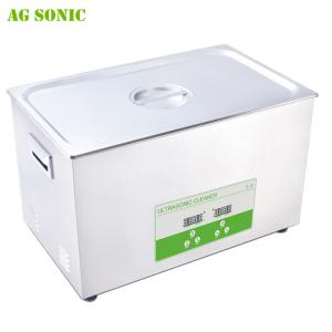 China 30L Heated Ultrasonic Jewelry Cleaner With Industrial PCB Board Control on sale