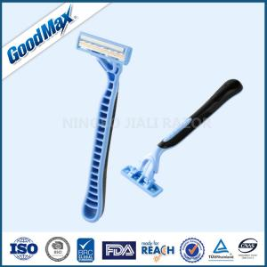China Goodmax Triple Blade Razor For Male Female Body Face Underarm With ISO Certificate on sale