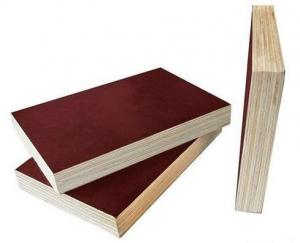 China Poplar Core 18mm Hardwood Plywood , Concrete Shuttering Ply Easy Work on sale