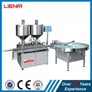 China LIENM Factory hair wax vaseline filling equipment machine with heating and mixing low price high quality on sale