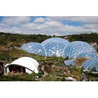 China Large Tensile Membrane Structure Geodesic Dome Greenhouse Tent on sale