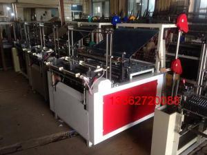 China HDPE LDPE shopping bag / T Shirt Bag Making Machine 0.008-0.10mm thickness on sale