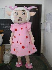 Quality costume heureux de partie de mascotte de moutons for sale