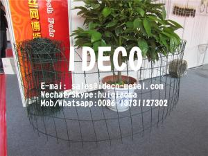China Ornamental Double Loop Wire Woven Fence, Double Loop Twisted Wire Fencing, Looped Top Wire Fences Garden Edging on sale