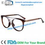 China Overstate Design Temple eyeglasses Frames and Natural Full sample Design Fashion Stainless Eyewear wholesale