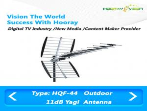 China 13-69 Channels Wireless Digital TV Aerial HDTV Yagi Uda Antenna UHF Band on sale