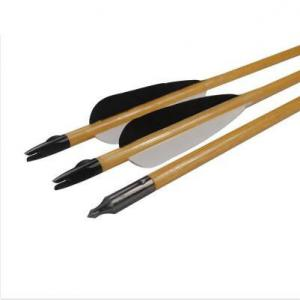 China Wooden Arrow Turkey Feather Field Point Tradtional Bow Hunting Shooting Outdoor Archery Bow on sale