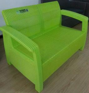 China Servo energy saving Large Injection Molding Machine making rattan imitation sofa for garden on sale
