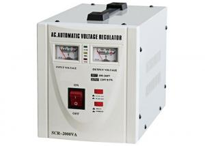 China AC Single Phase 2000VA Stabilizer , Automatic Voltage Stabilizer For Air Conditioner / Relay Type Stabilizer on sale