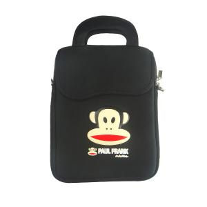 China strapped neoprene sleeve bag for 7inch Ebook Apad tablet pc with foaming printing on sale