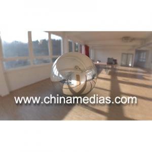 China Silver Full color Large Mirrorr ball Inflatable Advertising Balloons on sale