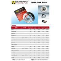 China Motorcycle Brake Disc Rotor SUPRA100 SMASH TS125 CG125 45251-KEV-650 on sale