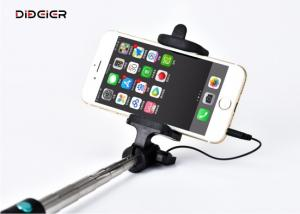 China Foldable Wired Selfie Stick Soft Foam Handle For Smart Phones on sale