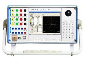China 6*120V Protection Relay Test Set 6U6I Channels Output Relay Analyzer on sale