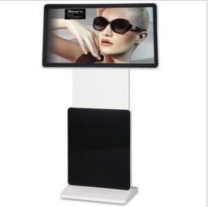 China FHD MP4 / MPG2 Floor Standing LCD Advertising Player Support WIFI RJ45 on sale