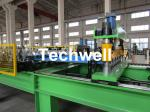 High Speed Steel Roofing Sheet Roof Roll Forming Machine with Flying Cutting